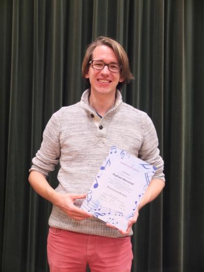 Der Verein hat Raphael Marschall zum Ehrenpräsidenten ernannt.