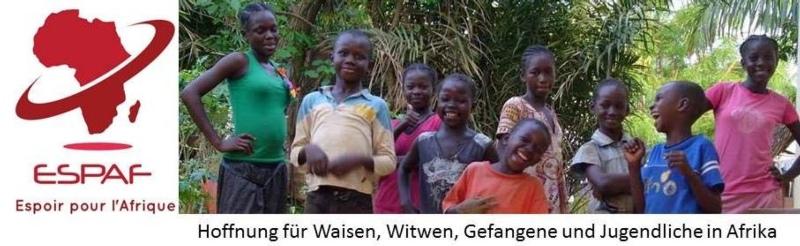 Helfen Sie mit, Freude zu schenken und Leid zu mindern!  Info unter http://espaf.ch