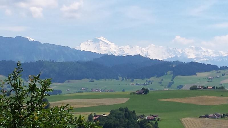 Legendär: Die wunderschöne Aussicht. (Bild: zvg)
