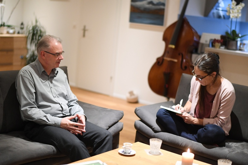 BERN-OST im Gespräch mit Stephan Hänsenberger.