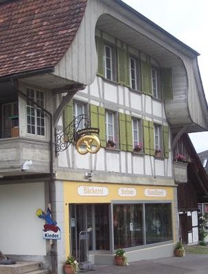 Die Bäckerei Steiner in Oberdiessbach.