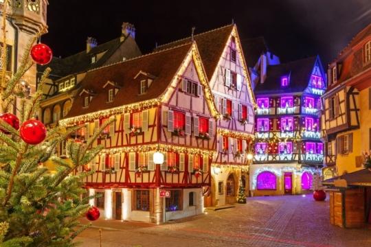 Colmar Weihnachtsmarkt.Tagesfahrt Zum Weihnachtsmarkt In Colmar F