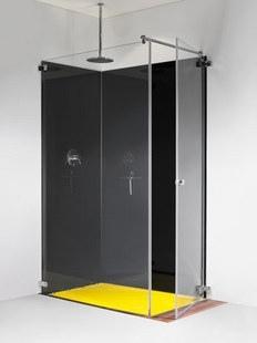 •Bequemer Einstieg auch bei begrenzten Platzverhältnissen  •Ausführung: 8 mm-Sicherheitsglas ohne Ausnahme •Beschläge: hochglanzverchromt •Einsetzbar mit oder ohne Duschtassen