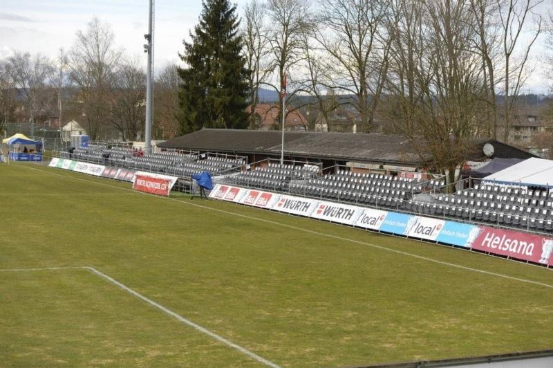 Hierfür muss der FC Münsingen tiefer in die Tasche greifen: Rasenplatz des Sportplatzes Sandreutenen (Bild: Facebook.com/FCMuensingen).