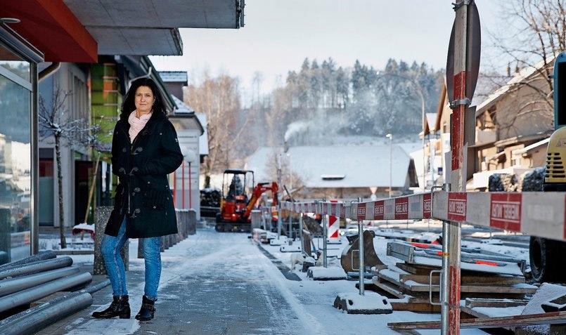 Peggy Steinmann steht mit ihrer Papeterie vor einer ungewissen Zukunft. (Foto: Christian Pfander)