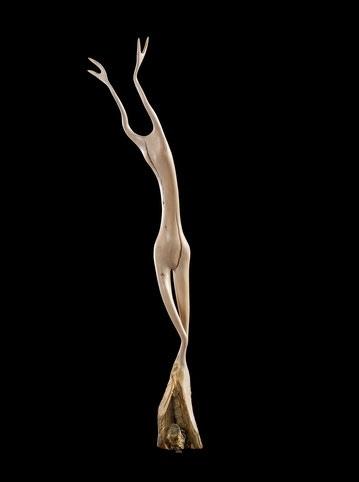 Zu sehen in der Galerie Doktorhaus: Skulpturen von Niklaus Krebs.