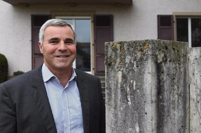 Beat Moser: Der 57-jährige Gemeindepräsident erhielt keine Konkurrenz. (Bild: Andreas Blatter)