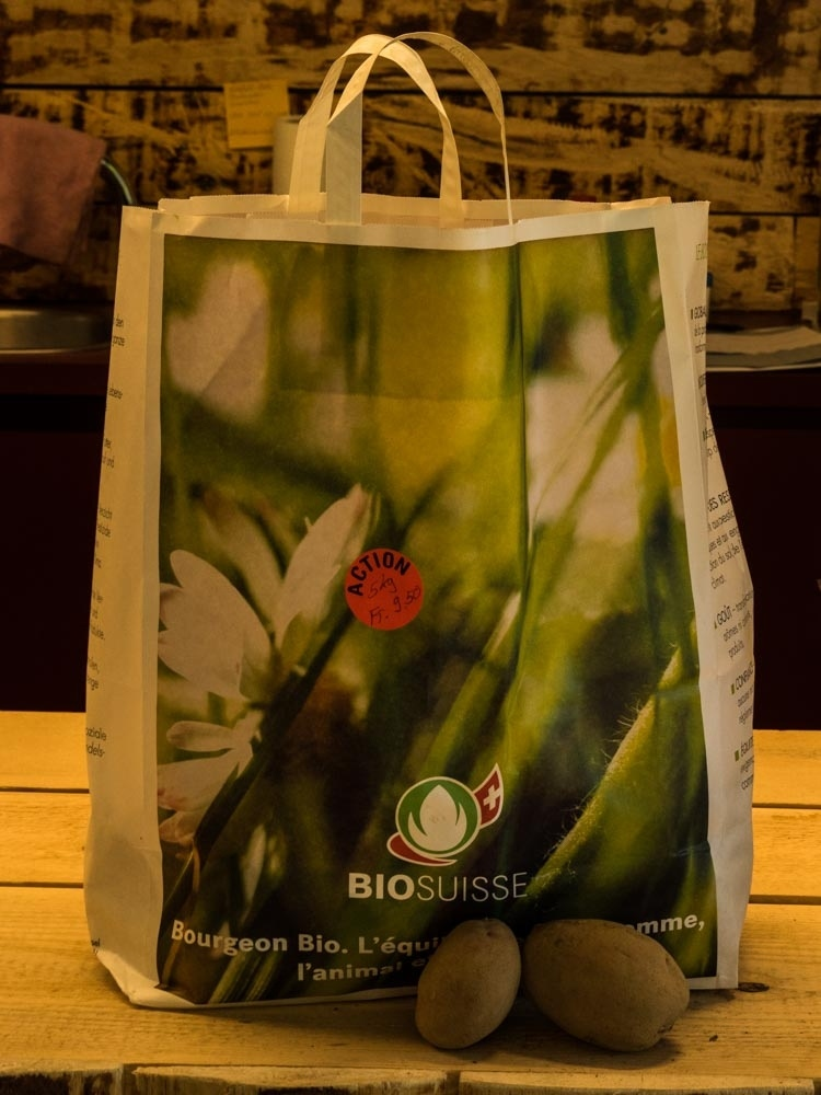 Bio Kartoffeln bei Zäzibiene, Thunstrasse 3 in Zäziwil