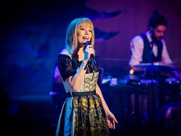 Francine Jordi sang in der Abschlusssendung vom Samstag ein Medley. (Bild: Ueli Christoffel, SRF)