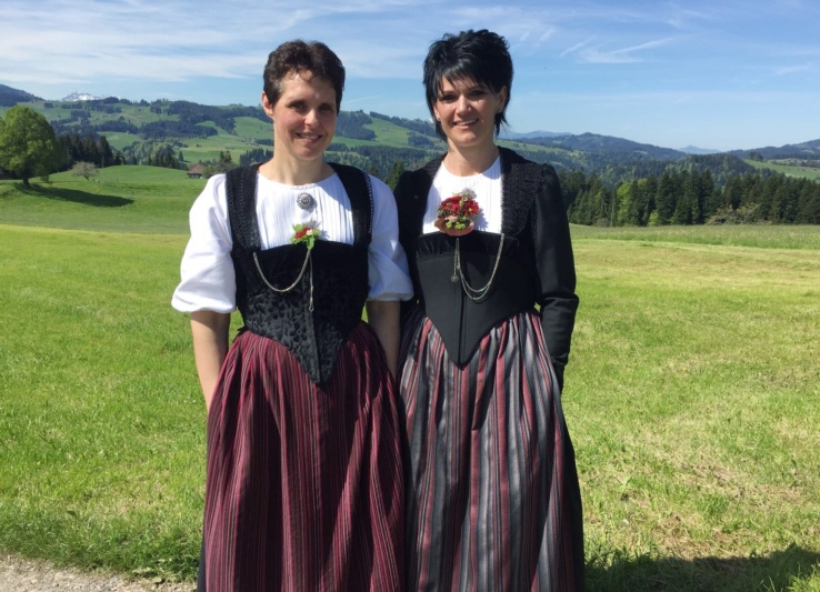 Marianne Leuenberger (links) und Renate Lüthi.