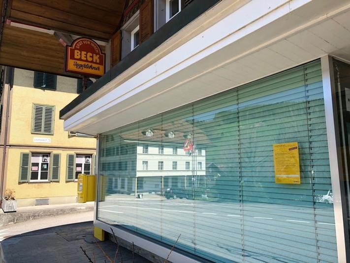 Wie geht es weiter? Die Bäckerei Jegerlehner ist seit Samstag vor einer Woche zu. (Bild: Res Reinhard)