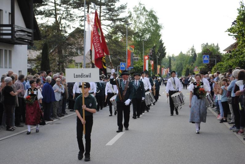 Die Marschmusikparade vom Freitag, 11. Mai. (Bilder: zvg)