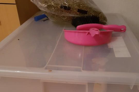 Grosse Plastikbox Mit Rollen Und Deckel