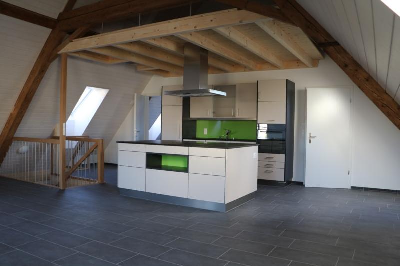 Wohnküche im Dachgeschoss (66.05 m2)