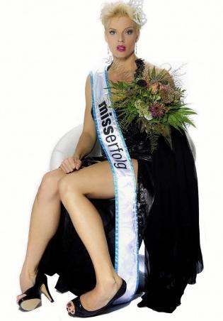 Ex-Miss-Schweiz Stéphanie Berger mit ihrem Programm