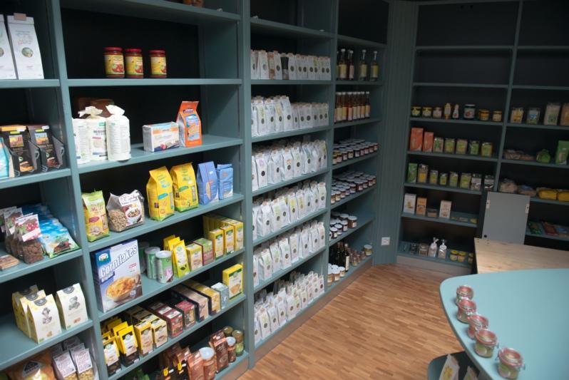 Beinahe fertig: Im neuen Laden im Rüttihubelbad werden ab dem 22. September regionale Bio- und Demeter-Produkte verkauft. (Bilder: zvg)