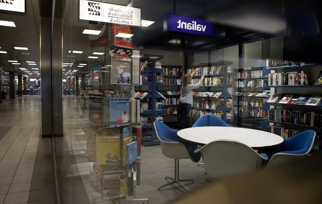 Die Bibliothek Ittigen: Rund 1300 Bolligerinnen und Bolliger gehen hier ein und aus. (Bild: Beat Mathys)