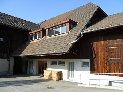 Keine Zukunft für die Armee: Die Militärunterkunft in Grosshöchstetten. (Bild: Archiv BERN-OST)