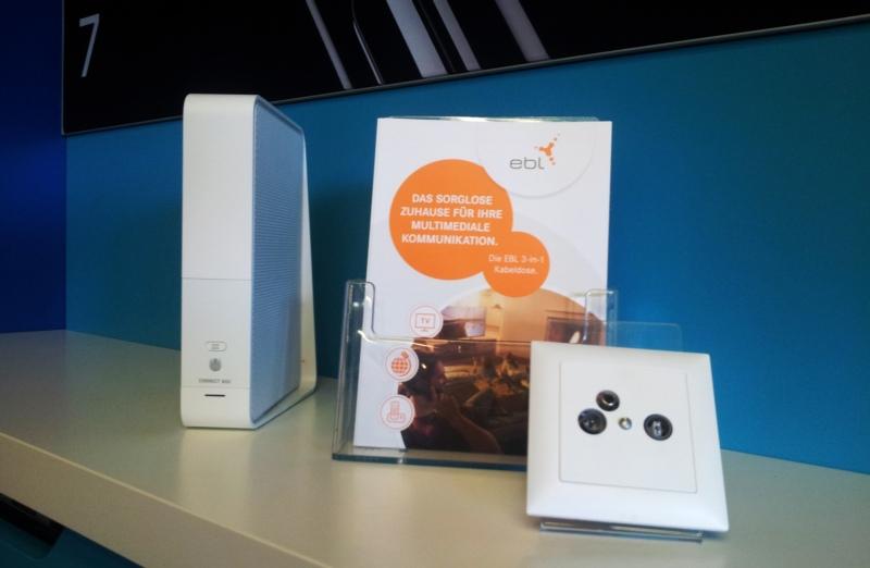EBL-Kunden haben in diesen Tagen ein neues Kabelmodem erhalten oder müssen am Umstelltag ihre Fernsehgeräte neu einstellen. (Foto: Tobias Kühn)
