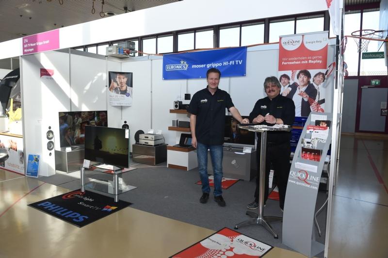 HiFi TV Moser Grippo GmbH mit Daniel Ramseyer und Giulio Grippo.