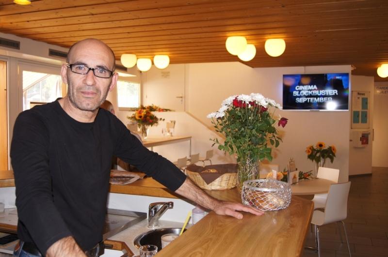 Im Restaurant Smash Münsingen wird ein Pächter gesucht: Antonio Cuzzuppe (Bild) - bis gestern Freitag Restaurantchef - wird es nicht sein. (Bild: Archiv BERN-OST)
