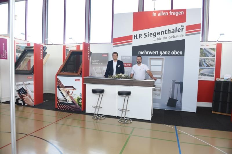 H.P. Siegenthaler AG mit Hanspeter Siegenthaler und Patric Graf.