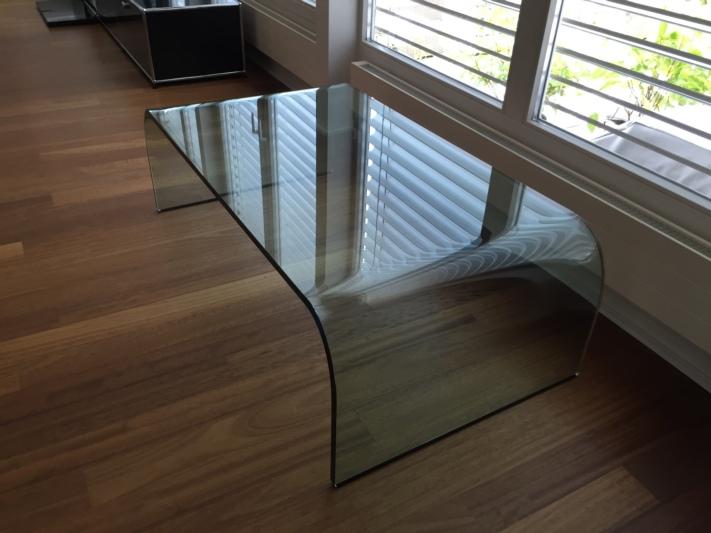 Sch ner glas salontisch for Salontisch glas