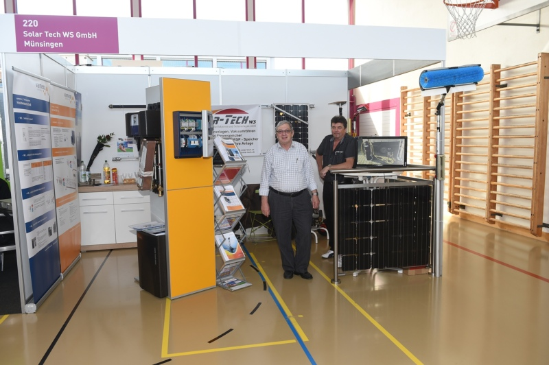 Solar Tech WS GmbH mit Ruedi Strahm und Klaus Wittenberg.