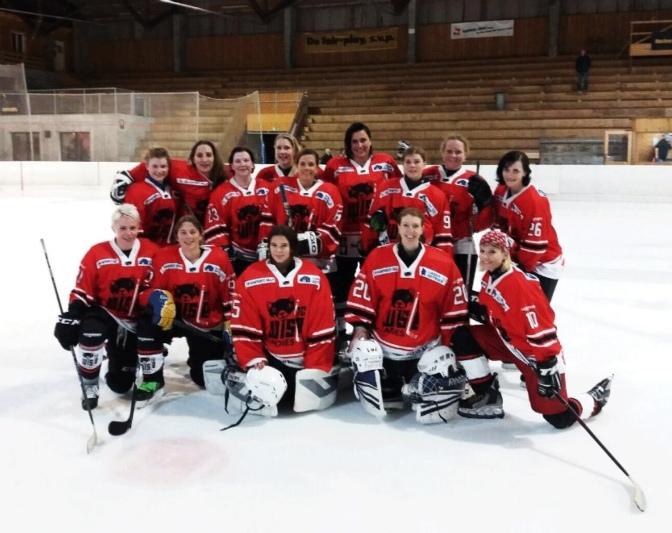 Bisher ohne Punkteverlust: Die HC Wisle Ladies sind erfolgreich in die erste Saison gestartet. (Bild: zvg)