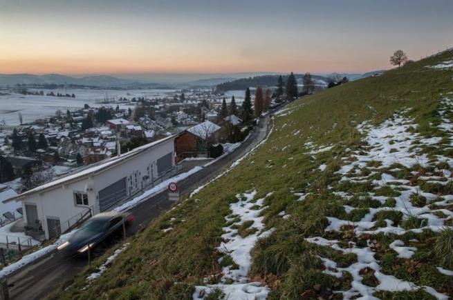 Entlang der Gemeindegrenze will Grosshöchstetten seine Wasserleitungen sanieren – und Oberthal dereinst ein neues Quartier bauen. (Bild: Beat Mathys)