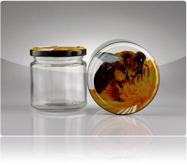 Mit Bienendeckel