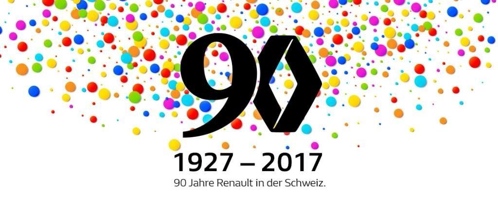 "Renault-Jubiläumstage ""90 Jahre"" 7. - 16. September 2017"