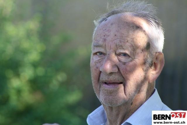 Im 108. Lebensjahr verstorben: Werner Tschaggelar. (Bild: Archiv BERN-OST)