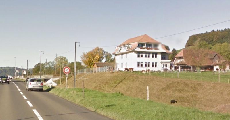 Der Standort Konolfingen wird geschlossen. (Bild: neo1/Google Streetview)