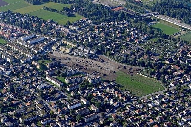 Münsingen ist in den letzten Jahren stark gewachsen. So auch der Verkehr. (Bild: Stefan Anderegg)
