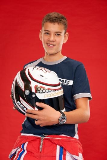 """""""Ich mochte von klein auf alles, was Räder hat"""": Im Alter von 7 Jahren begann der heute 14-jährige Samir Ben mit dem Kartfahren. (Bilder: zvg)"""