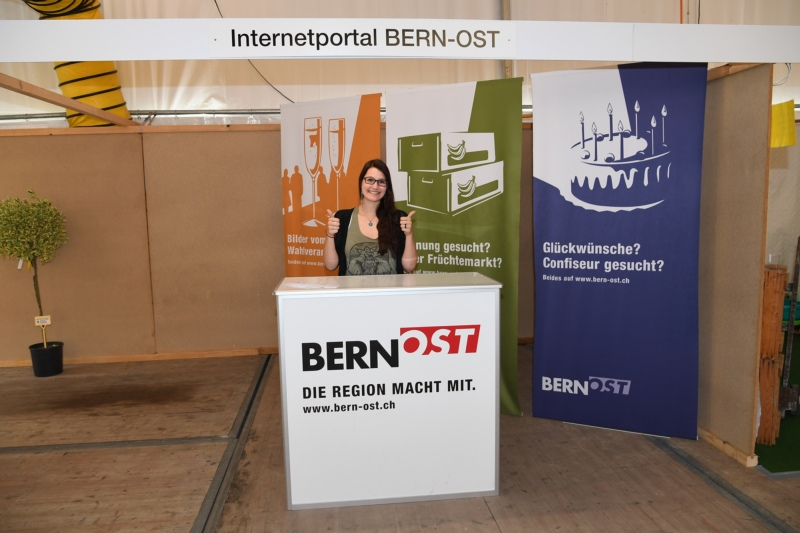 BERN-OST mit Sara Tretola.