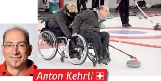 Anton kehrli curler aus t gertschi an den paralympics for Innendekorateur bern