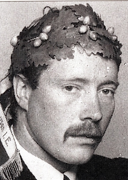 Jahrgang 1954 und zwei Kränze: Niklaus Hadorn als junger Schwinger... (Bild: sk-oberdiessbach.ch)