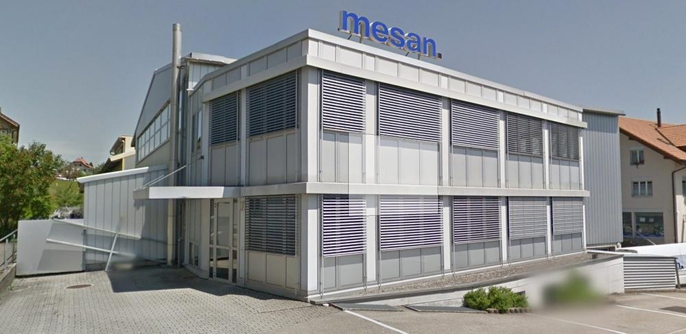 Baut räumlich aus: Die Mesan AG in Grosshöchstetten. (Bild: Google Street View)