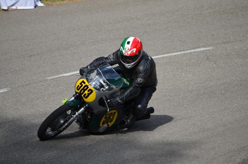 Erfolgreich unterwegs: Urs Bigler bei einem Rennen der Schweizermeisterschaft. (Bild: zvg)