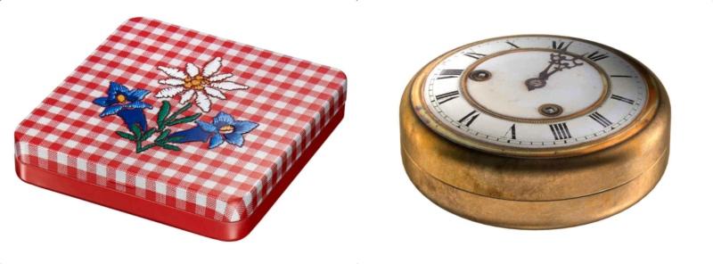 Die Dosen für die Tasche sind in den verschiedensten Variationen online erhältlich. (Bild: tinboutic.ch)