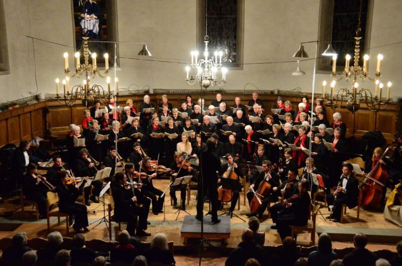 """""""Brücken zu 'Tod und Auferstehung'"""" der Johannes Bach Passion: Das 1. Jubiläumsprojekt des Kirchenchors Biglen zur Feier des 100-Jahre-Jubiläum."""