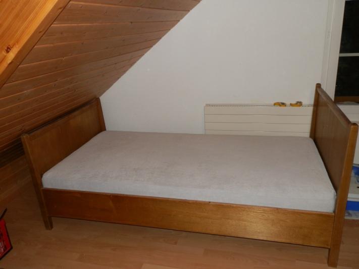 zu verschenken bett. Black Bedroom Furniture Sets. Home Design Ideas