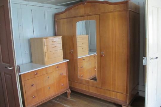 Orginal 50er-Jahre-Schlafzimmer