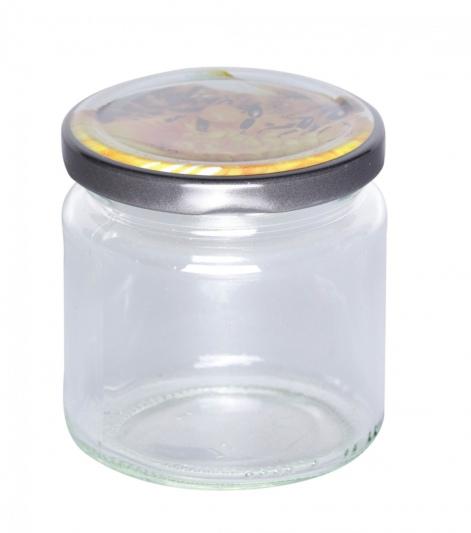 250g Honigglas mit Bienendeckel