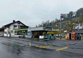 Auch der Bahnhofvorplatz wird vom Umbau betroffen sein. So soll etwa die Bushaltestelle behindertengerecht ausgestaltet werden.