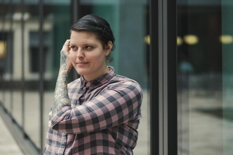 """""""Mit jedem mehr, bin ich mehr ich selber"""", beschreibt Anna Mori, was ihre Tätowierungen so besonders macht. (Bild: George Eberle / zvg)"""