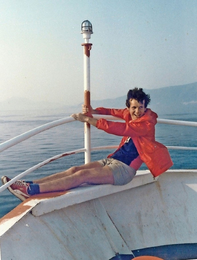 Christoph Lanzrein: «Er liebte das Meer», sagt seine Mutter. (Foto: pd)
