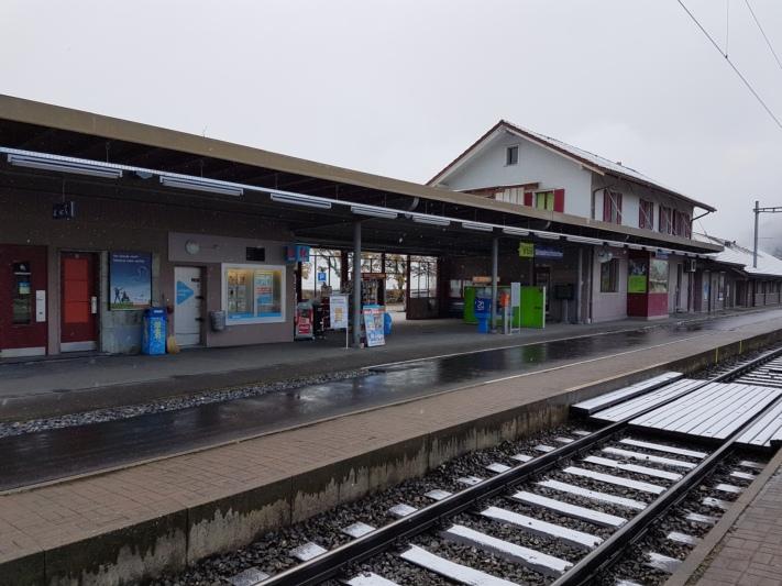 Wird modernisiert: Der Bahnhof Grosshöchstetten wird auf den neusten Stand gebracht. (Bild: zvg)